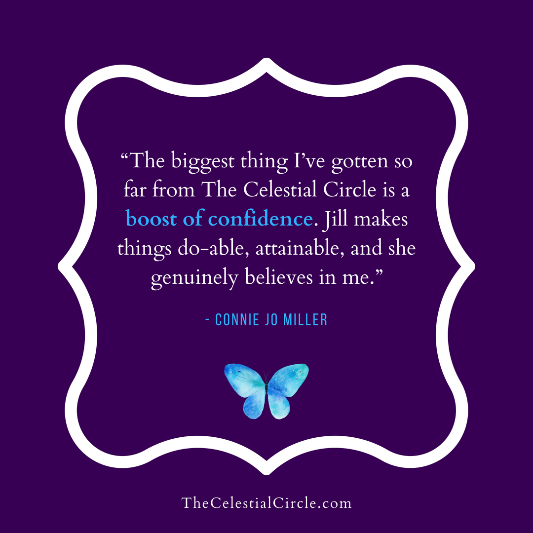 Testimonial by Connie Jo Miller for The Celestial Circle