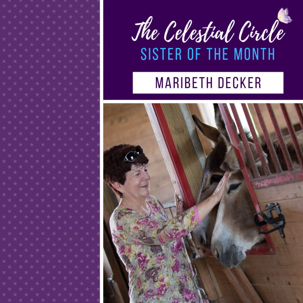 Meet Maribeth Decker, Celestial Circle Sister of the Month