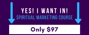 Sign up for Spiritual Marketing Course with Jill Celeste