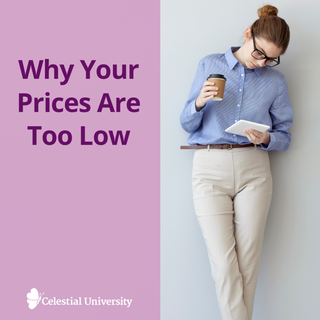 Why Your Prices Are Too Low