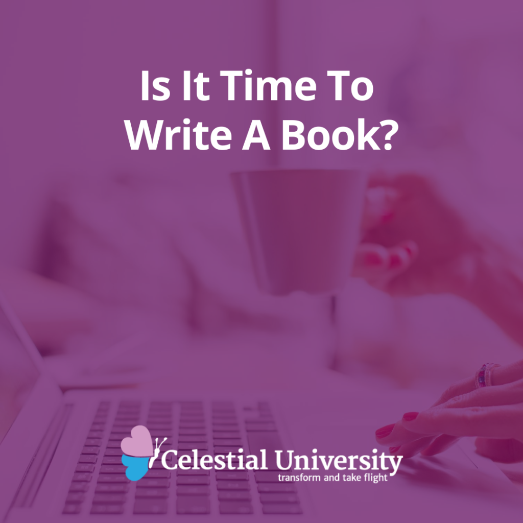 Is It Time To Write A Book?