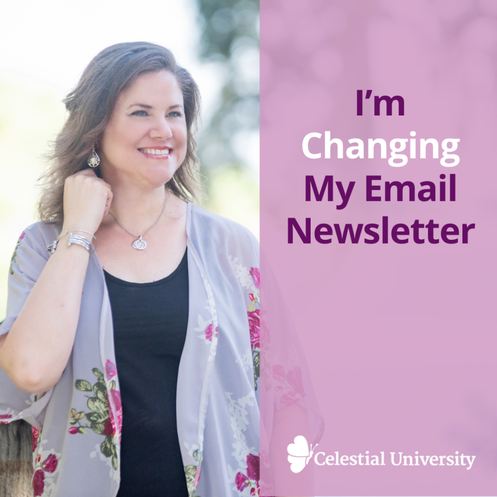 I'm Changing My Email Newsletter