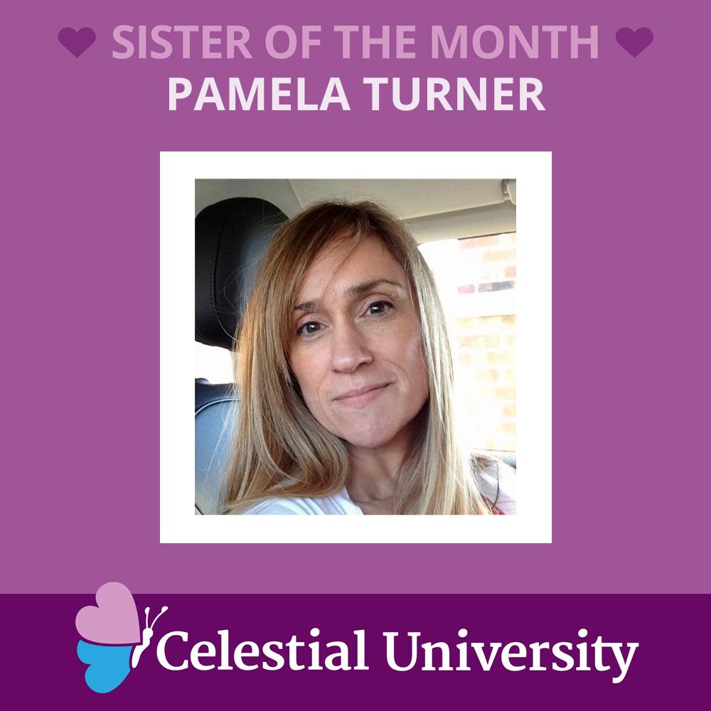 Pamela Turner: Sister of the Month