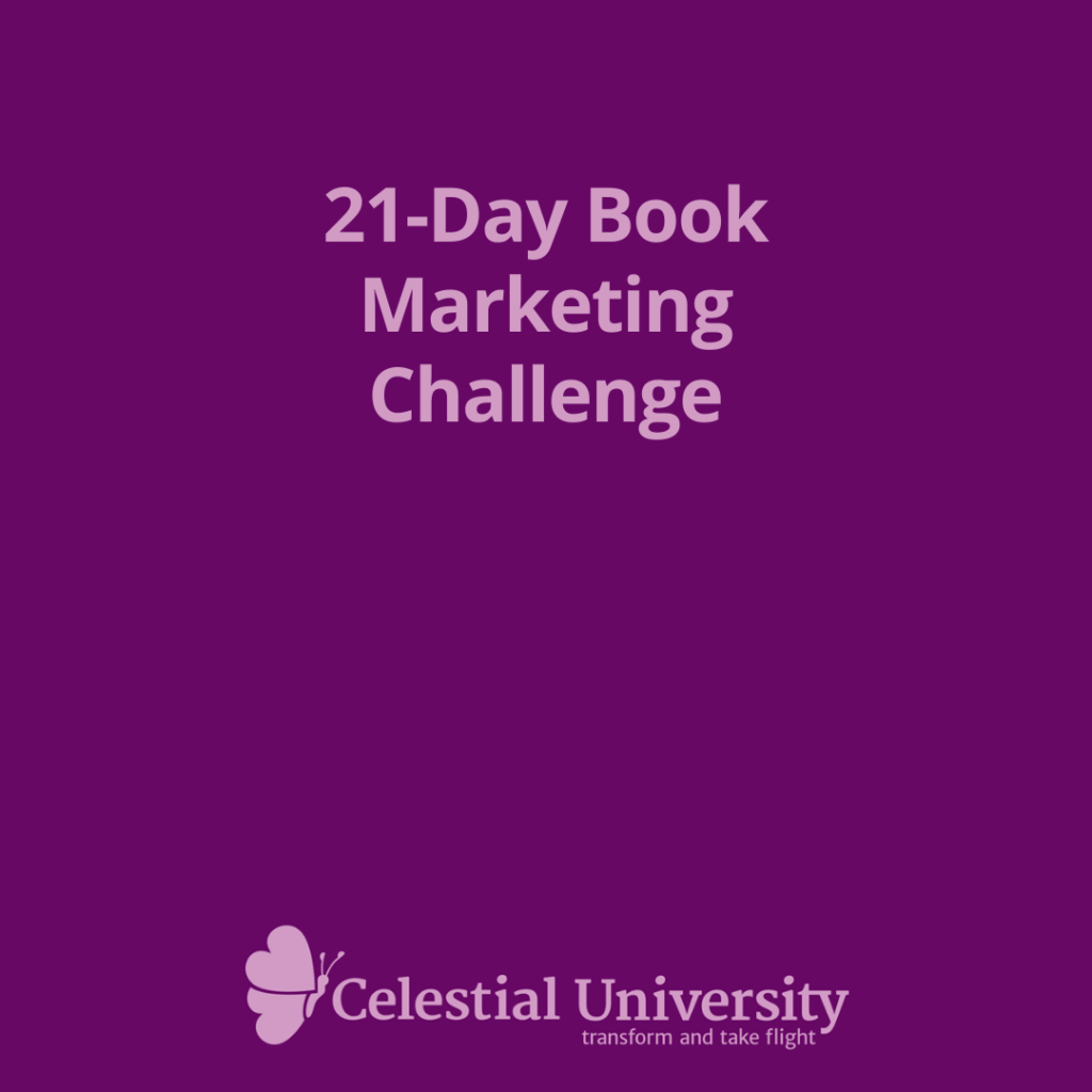Authors, Join the 21-Day Book Marketing Challenge